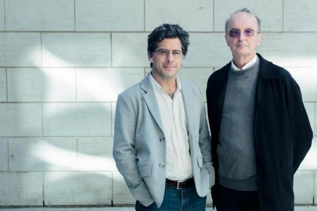 Jean-Philippe Warren et Denys Delâge proposent des clés... (PHOTO EDOUARD PLANTE-FRéCHETTE, LA PRESSE)