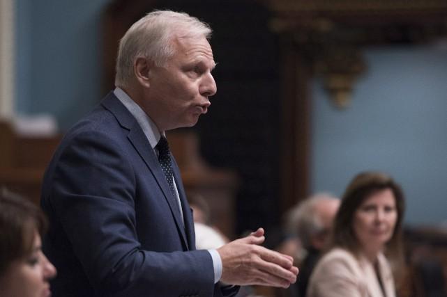 Le chef du Parti québécois,Jean-Francois Lisée, affirme qu'ila... (Photo Jacques Boissinot, archives PC)