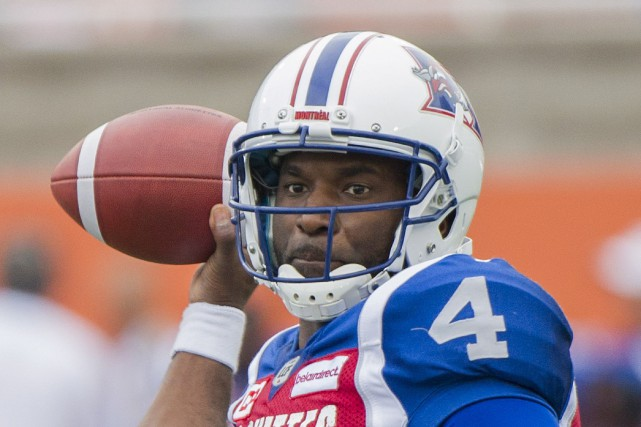 Darian Durant disputera vendredi un premier match à Regina... (Photo Graham Hughes, PC)