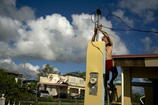 Whitefish Energy Holdings a remporté un contrat de... (PHOTO AP)
