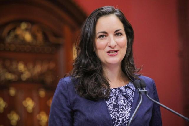 La ministre de la Culture, Marie Montpetit... (Photo Francis Vachon, La Presse Canadienne)