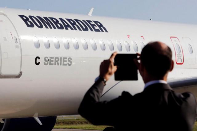 Bombadier dévoilera jeudi ses résultats du troisième trimestre.... (PhotoRegis Duvignau, Reuters)