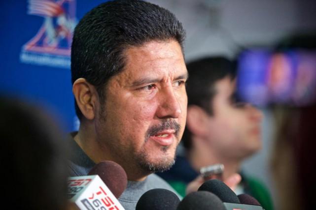 Anthony Calvillo poursuivra-t-il sa carrière d'entraîneur?... (Photo André Pichette, Archives La Presse)