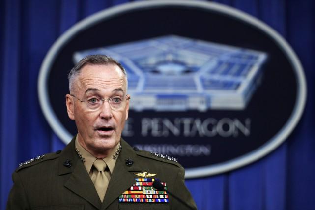 Le chef d'état-major des armées américaines, le général... (AP)