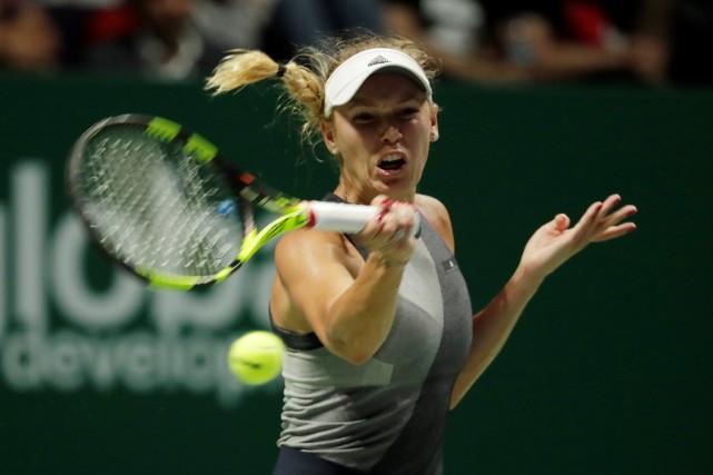 Caroline Wozniacki... (Photo Jeremy Lee, Reuters)