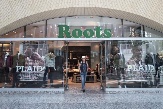 La décision du détaillant de vêtements de s'inscrire... (Photo archives La Presse Canadienne)