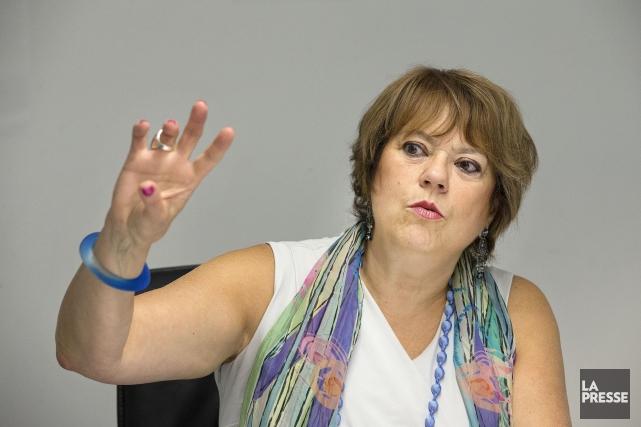 La ministre responsable de la Condition féminine, Hélène... (Photo Robert Skinner, archives La Presse)