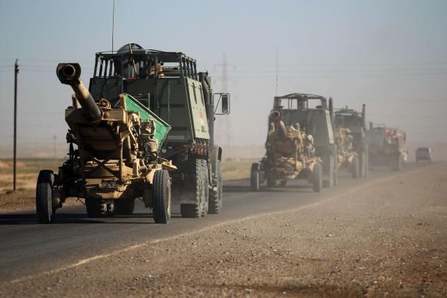 L'Irak s'est lancé dans cette opération alors que... (ARCHIVES AFP)