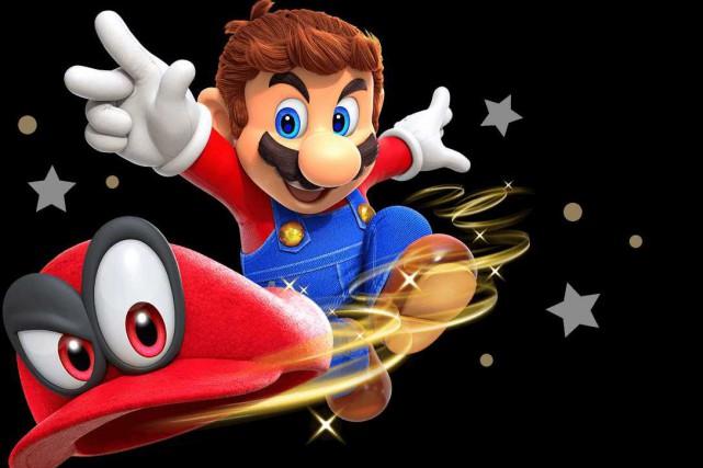 Mario... (Photo Nintendo)
