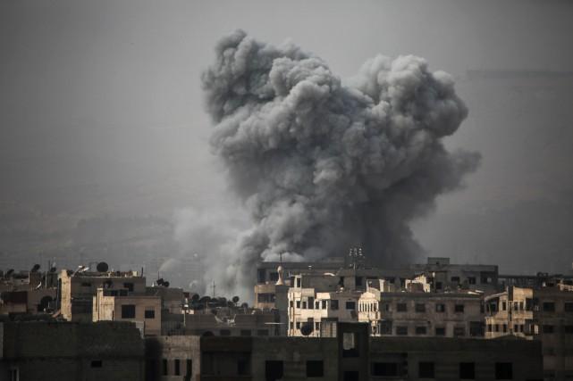 La Ghouta orientale est l'une des quatre zones... (AFP)