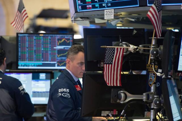 44,82 points à 15 899,59 points.«L'attention des investisseurs... (AFP)