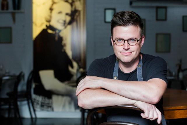 Danny St Pierre, chef propriétaire du restaurant Petite... (Photo Edouard Plante-Fréchette, La Presse)