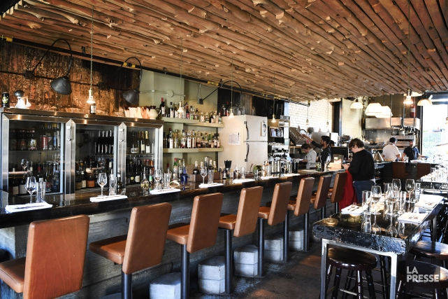 Chez Manitoba, restaurant ouvert en 2014 dans un... (PHOTO BERNARD BRAULT, LA PRESSE)