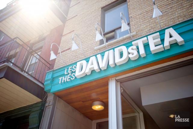 La chaîne de boutiques de thé David's Tea vient d'annoncer le départ de deux... (PHOTO SARAH MONGEAU-BIRKETT, ARCHIVES LA PRESSE)