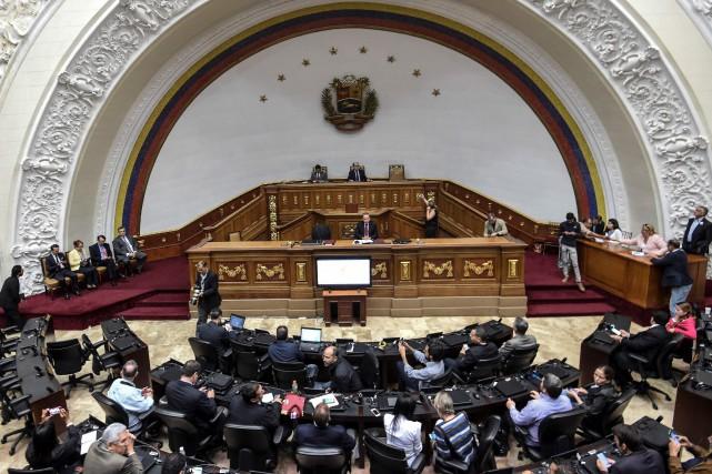 L'Assemblée nationale vénézuélienne est la seule institution au... (ARCHIVES AFP)
