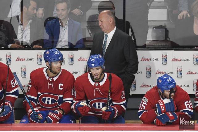 L'attaque du Canadien vivote au dernier rang dans... (Photo Bernard Brault, La Presse)