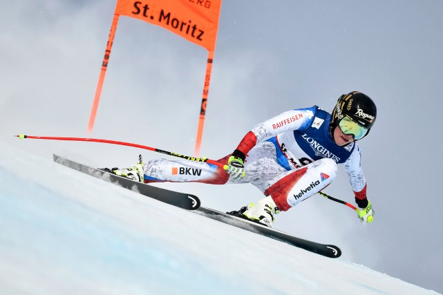 Lara Gut... (Photo Fabrice Coffrini, archives AFP)