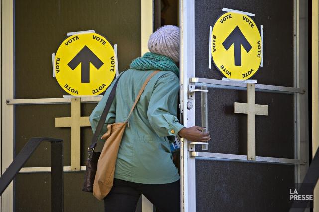 En 2013, c'est 7,75% des électeurs montréalais qui... (photo Patrick SANFACON, archives La Presse)