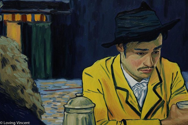 Douglas Booth dans Loving Vincent ... (Photo Momgrel)