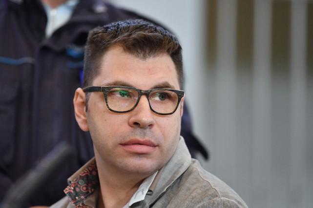 Valentino Talluto... (PHOTO Tiziana FABI, AFP)
