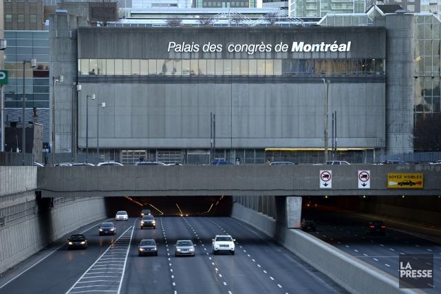 Selon Denis Coderre, l'agrandissement du Palais des congrès... (PHOTO BERNARD BRAULT, ARCHIVES LA PRESSE)
