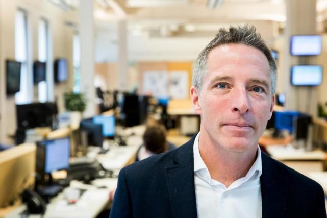 Philippe Boisclair,PDG et fondateur de CWP Énergie... (PHOTO MARCO CAMPANOZZI, LA PRESSE)