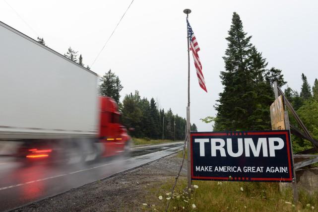M. Trump a commencé à dire qu'il voulait... (Photo Le Soleil)