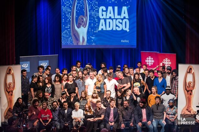 Le dévoilement des artistes nominés au gala de... (PHOTO EDOUARD PLANTE-FRÉCHETTE, ARCHIVES LA PRESSE)