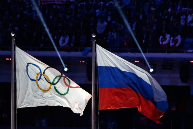 Le Comité international olympique décidera mardi si la Russie... (PHOTO MATTHIAS SCHRADER, ARCHIVES ASSOCIATED PRESS)
