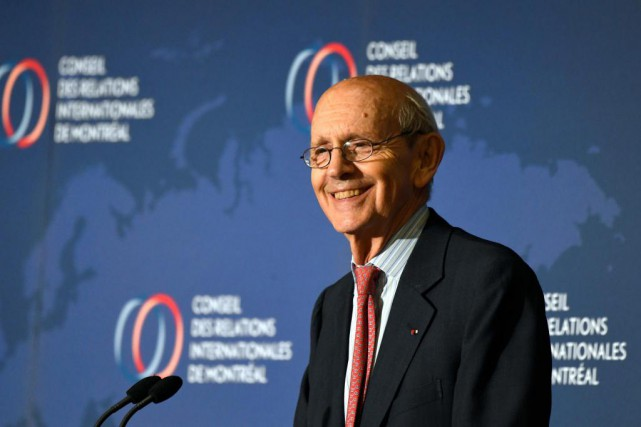 Le jugeStephen Breyer siège à la Coursuprême des... (Photo Bernard Brault, La presse)