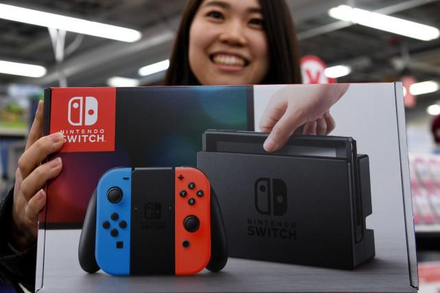 Nintendo a écoulé 22 millions de jeux pour... (AFP)