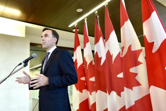Le ministre des Finances Bill Morneau a abandonné,... (Photo Justin Tang, archives La Presse canadienne)
