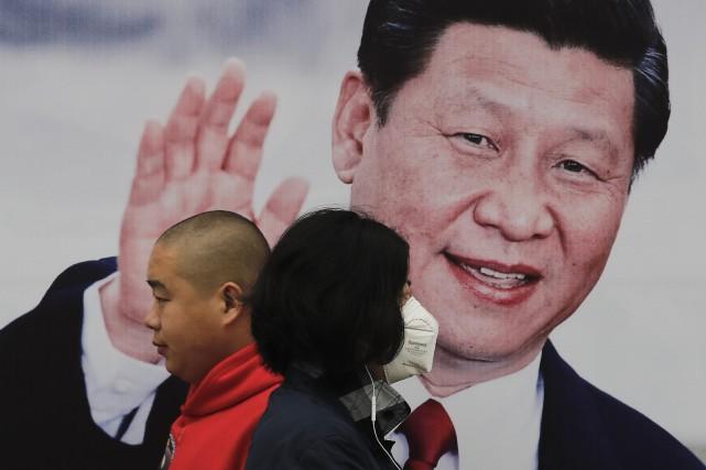 Xi Jinping, 64 ans, a déjà renforcé ses... (AP)