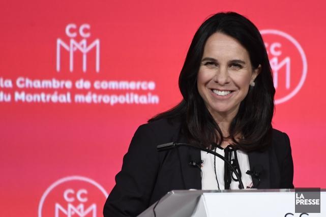 La cheffe de Projet Montréal, Valérie Plante.... (Photo Bernard Brault, archives La Presse)