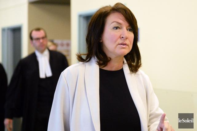 Le procès de Nathalie Normandeau et de ses... (Photo Jean-Marie Villeneuve, archives Le Soleil)