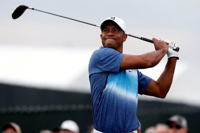 Le golfeur Tiger Woods reprendra les bâtons à... (Photo Brian Spurlock, USA TODAY Sports)