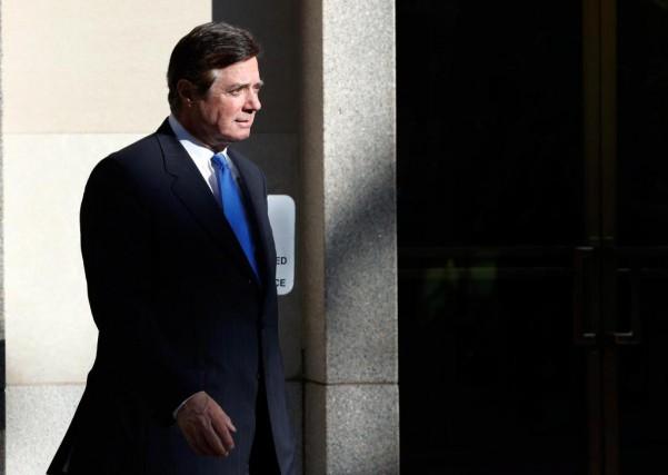 L'ancien directeur de campagne de Donald Trump, Paul... (Photo Alex Brandon, Associated Press)