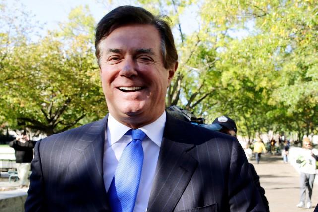 Le procureur Mueller a inculpé Paul Manafort (photo)... (REUTERS)