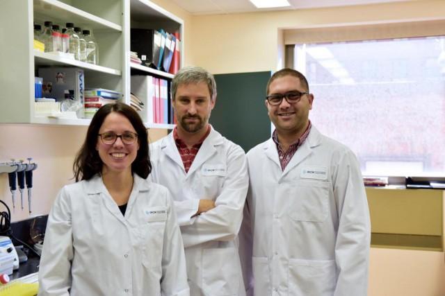 Julie Lacombe, chercheuse associée, Mathieu Ferron, directeur de... (Photo fournie par l'IRCM)