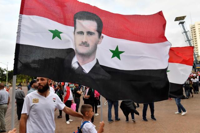 «Le régime a repris militairement de larges pans... (AFP)