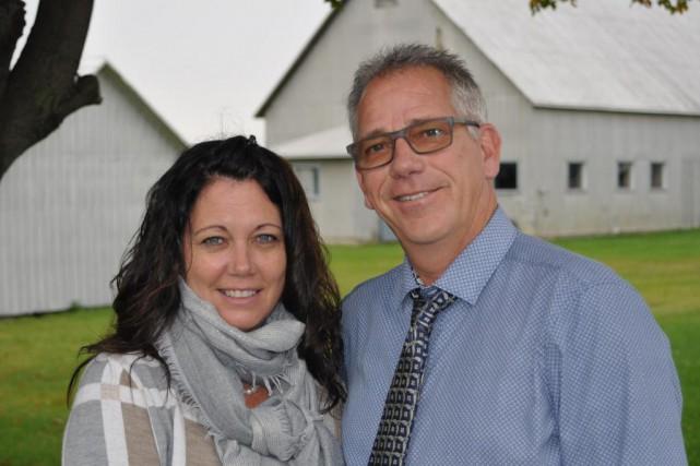 Si Linda Roy et son conjoint Donald Poirier... (photo jean-luc lorry, collaboration spéciale)