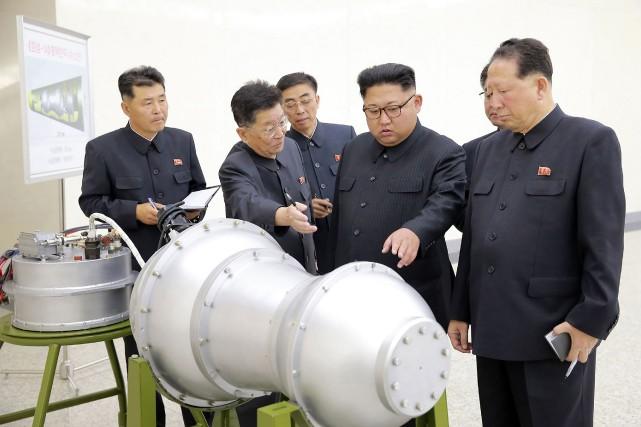 Habituellement, la Corée du Nord ne reconnaît pas... (AFP)