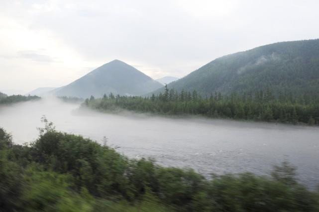 Situé au coeur de la Sibérie, le Baïkal... (Photo James Hill, archives The New York Times)