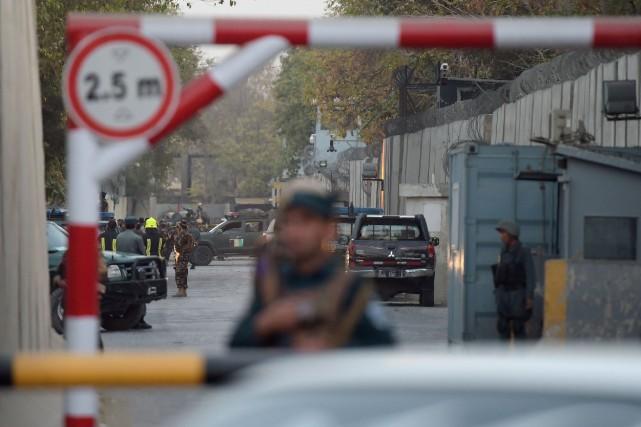 «L'attentat a été perpétré par un kamikaze à... (AFP)