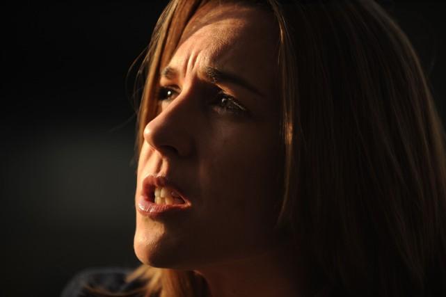 Claire Williams lors d'une mêlée de presse le... (Photo : AFP)