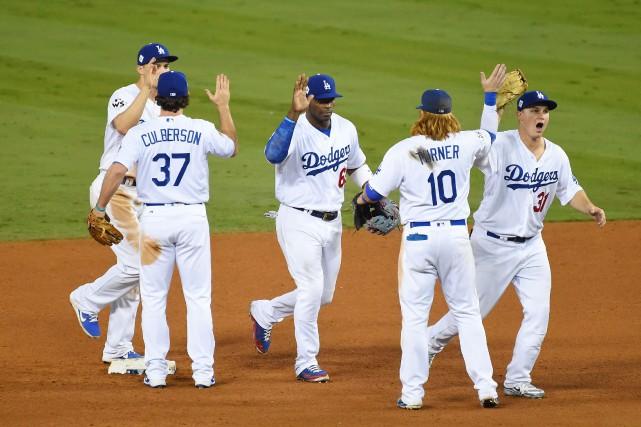 Grâce à leur victoire, les Dodgers ont forcé... (Photo Jayne Kamin-Oncea, USA TODAY Sports)