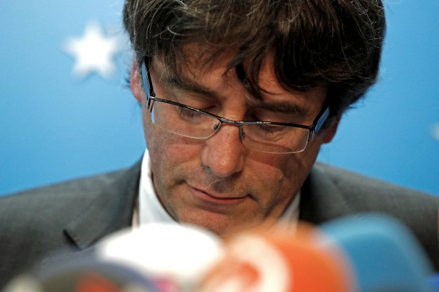 Démis de ses fonctions par Madrid le 27... (REUTERS)