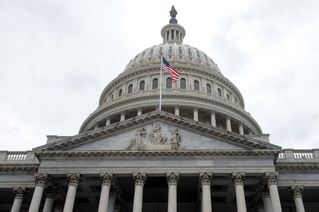 Pour le président Donald Trump, cette baisse d'impôts,... (AFP)