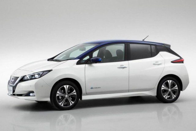 La Nissan Leaf 2018... (Photo Nissan)