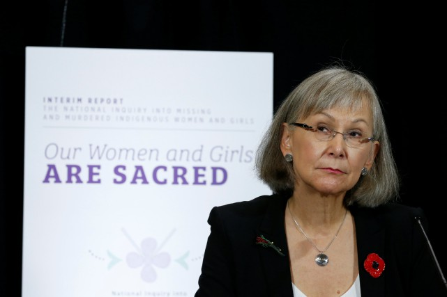 La cheffe commissaire de l'Enquête nationale sur les... (Photo Chris Wattie, Reuters)